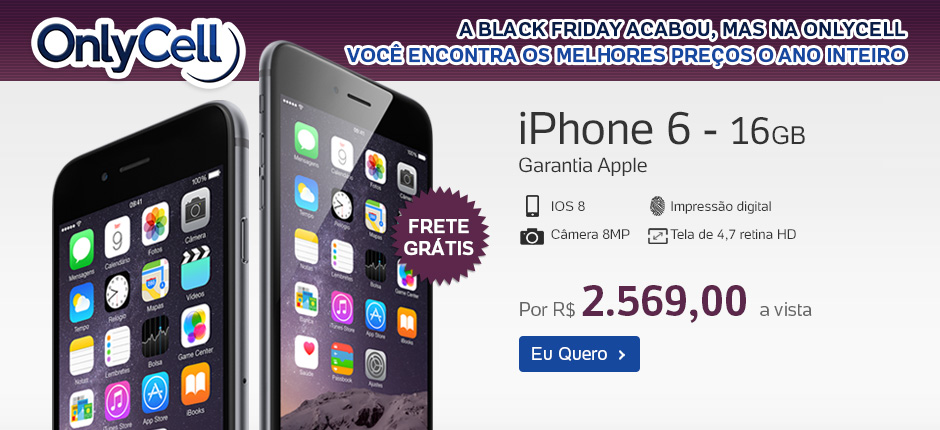 OnlyCell - iPhone 6 - 16GB