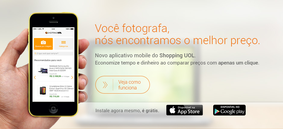 Aplicativo Shopping Celular