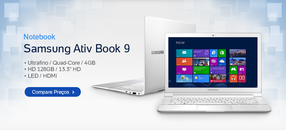 Notebook - Samsung