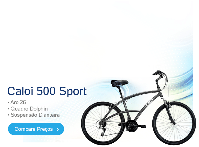 [sh] Bicicleta - Caloi 500 Sport