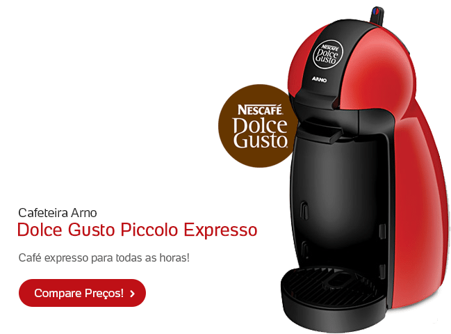 [sh] Cafeteira Arno Dolce Gusto Piccolo Expresso