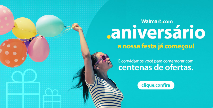Anivers�rio Walmart