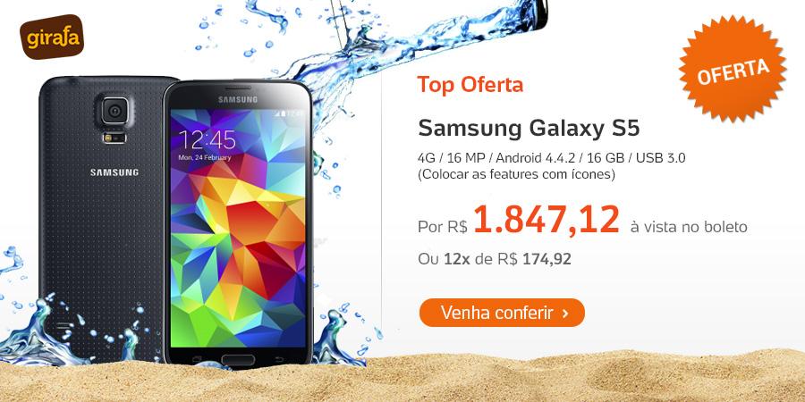 Samsung Galaxy S5 - Girafa