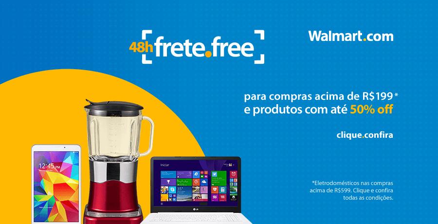 Walmart  - Frete Free